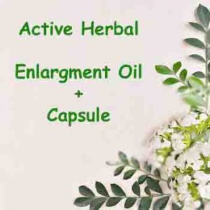 Enlargement Oil+Capsules - Herbal Medicine Online