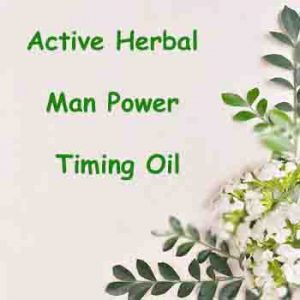 Man Power Timing Oil- Active Herbal - Herbal Medicine Online