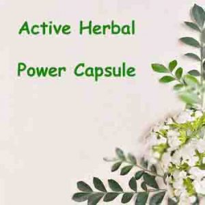 Power Capsule - Herbal Medicine Online | Active Herbal