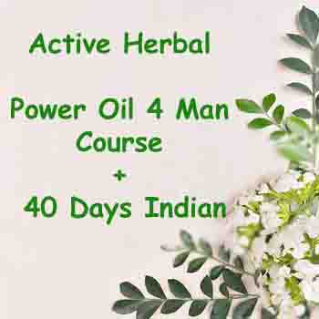 Power OiL 4 Man Course 40Days Indain - Herbal Medicine Online