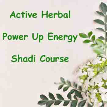 Power Up Energy Shadi Course- Active Herbal